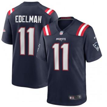 Julian Edelman New England Patriots Nike Spiel Trikot - Marine