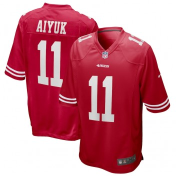 Brandon Aiyuk San Francisco 49ers Nike 2020 NFL Draft Erste Runde Pick Spiel Trikot - Scarlet