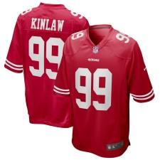 Javon Kinlaw San Francisco 49ers Nike 2020 NFL Draft Erste Runde Pick Spiel Trikot - Scharlachrot