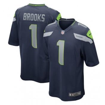 Jordyn Brooks Seattle Seahawks Nike 2020 NFL Draft Erste Runde Pick Spiel Trikot - Marine
