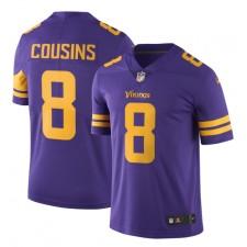 Kirk Cousins Minnesota Vikings Nike Farbe Rush Vapor unantastbar limited Trikot - lila