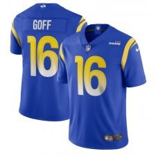 Jared Goff Los Angeles Rams Nike Dampf Begrenzte Trikot - königlich