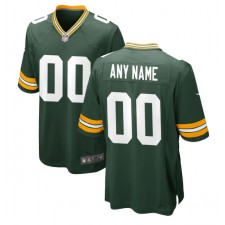 Green Bay Packers Nike Benutzerdefinierte Spiel Trikot - Grün