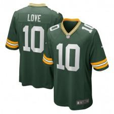 Jordan Liebe Green Bay Packers Nike 2020 NFL Draft erste Runde Pick Spiel Trikot - grün