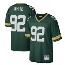 Reggie White Green Bay Packers Mitchell & Ness Big & Tall 1996 Pensionierter Spieler Replikat Trikot - Grün