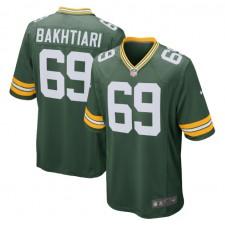 David Bakhtiari Green Bay Packers Nike Spiel Trikot - Grün