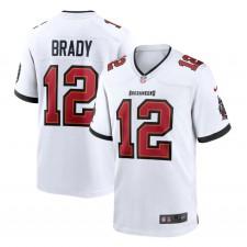 Tom Brady Tampa Bay Buccaneers Nike Spiel Trikot - Weiß