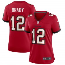 Tom Brady Tampa Bay Buccaneers Nike Damen Spiel Trikot - Rot