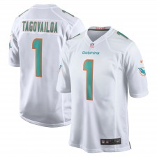 Tua Tagovailoa Miami Dolphins Nike 2020 NFL Draft Erste Runde Pick Spiel Trikot - weiß
