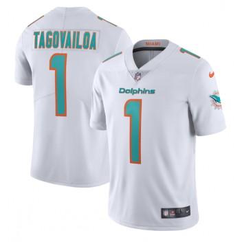 Tua Tagovailoa Miami Dolphins Nike Dampf Begrenzte Trikot - Weiß