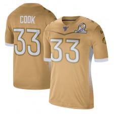 Dalvin Cook Nike 2020 NFC Pro Bowl Spiel Trikot - Gold