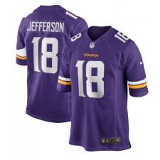 Justin Jefferson Minnesota Vikings Nike 2020 NFL Draft Erste Runde Pick Spiel Trikot - lila