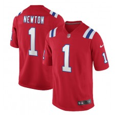Cam Newton New England Patriots Nike Alternate Spiel Trikot - Rot