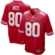 Jerry Rice San Francisco 49ers Nike Spiel zurückgezogen Spieler Trikot - Scharlachrot